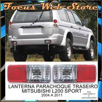 Lanterna Parachoque Traseiro Mitsubishi L200 Sport Par 04/11