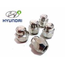 Porca De Roda Cromada Hyundai I30,..(c/20)