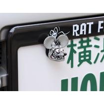 Parafuso Para Placa De Carro Rat Fink Mooneyes Rot Rod V6v8