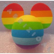 Mickey Arco-íris - Enfeite De Antena - Original Disney Parks