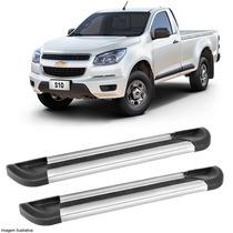 Estribo Plataforma Alumínio P Chevrolet S10 Cabine Simples
