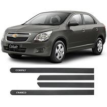 Friso Lateral Personalizado Chevrolet Cobalt Cinza Mond