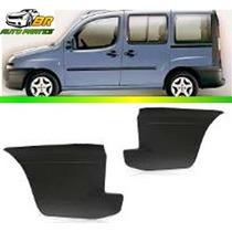 Parachoque Traseiro Polaina Lateral Fiat Doblo 2002 A 2008