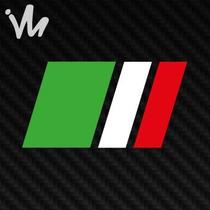 Adesivo Fiat Bandeira Italia Punto Palio Uno Punto Siena