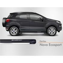 Estribo Nova Ecosport 2012 2013 2014 2015 Cinza Camburi