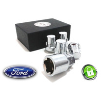 Anti Furto De Rodas Para Ford Fiesta Kit 4+1 Plus