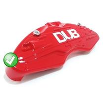 Capa Para Pastilha Pinça De Freio - Dub Vermelha Promoção