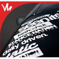 Adesivos Automotivos Para Carros Rebaixados, Som!!