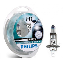 Kit Lampada Farol-philips-h1 X2-x-treme Bravo-2010-9999