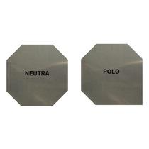 Placa Aço Inox 316l - P/ Gerador Hidrogênio Hho 1x130x130mm
