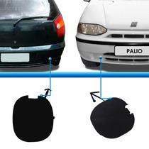 Par Tampao Reboque Parachoque Palio Hatch 96 97 98 99 00