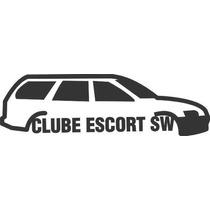 Adesivo Automotivo Ford Escort Sw Clube 15cm