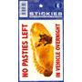 Não Pastéis Cadastre - Em Veículo Sticker 'self Adhesive