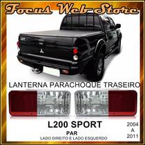 Lanterna Parachoque Traseiro L200 Sport Par Ld/le 04/11