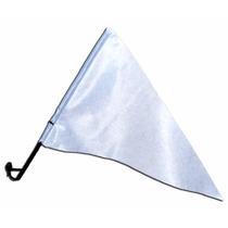 Bandeira Triangular Com Haste Para Vidro De Carro (1 Un)