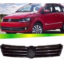 Grade Radiador Volkswagen Fox C/friso Cromado 10 11 12 13 14