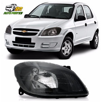 Farol Chevrolet Celta Máscara Negra 2006 2007 2008 2009 2010