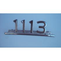 Emblema Antigo 1113 Caminhão Mercedes