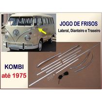 Friso Kombi Até 1975 Jogo Aluminio Lateral Dianteiro Traseir