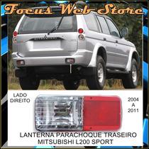 Lanterna Parachoque Traseiro Mitsubishi L200 Sport Ld 04/11