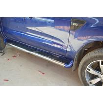 Estribo Personalizado Nova Ranger Cab Dupla Azul Aurora