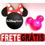 Minie Enfeite Antena + Aromatizador Mickey Carro Disney Park