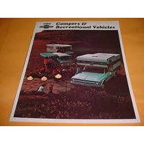 Folder Chevrolet 69 1969 Motor Home Trailer