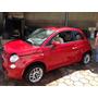 Fiat 500c Vidro Fixo Lateral