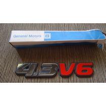 S-10 E Blazer - Emblema 4.3 V6 Original Gm