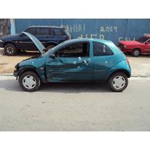 Vidro Tampa Traseiro Ford Ká 1.0 Ano 2000