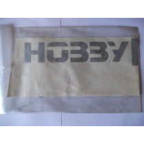 Logotipo Hobby Da Tampa Traseira - Preto - Escort 94/96