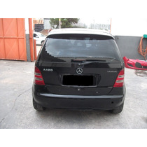 Tampa Tras.completa C/ Vidro E Limpador Mercedes Classe A