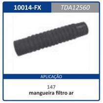 Mangueira Inferior Radiador 280mm Fi Tda12560 Uno:1984a1990