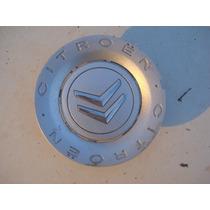 Calota Centro Da Roda Citroen C 3 C 4 - Usada - Excelente