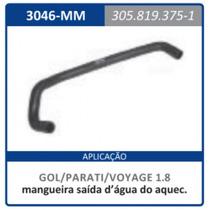 Mangueira Saida D Agua No Aquecedor Motor 1.8 Gol:1980a1994