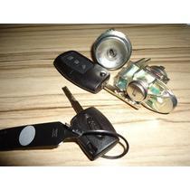 Jogo Kit De Cilindros C/chaves Ignição + Canivete New Fiesta