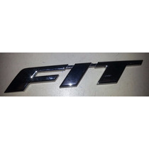 Emblema Tampa Traseira New Fit 2009 2010 2011 2012 2013 14