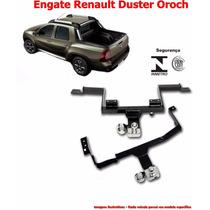 Engate Reboque Renault Duster Oroch Selo Inmetro E Contran