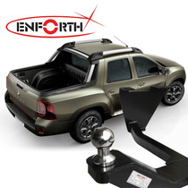 Engate Reboque Renault Duster Oroch Completo Cromado Enforth