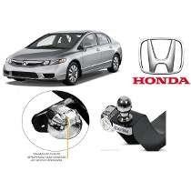 Engate Reboque Honda Civic 2007 Até2012 Não Fura Veiculo
