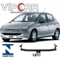Engate Reboque Rabicho Peugeot 206 Hatch Até 2012