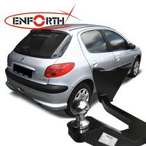 Engate Reboque Peugeot 207 206 Bola E Tomada Cromada Enforth