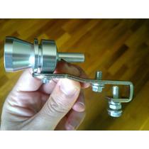 Turbo Sound Whistle Efeito Turbina Apito Tunning Ponteira .