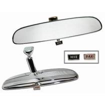 Espelho Retrovisor Interno Universal Hot Rod Ford Cromado Gt