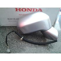 Retrovisor Ld. S/ Pisca Civic 07/...prata Original Honda