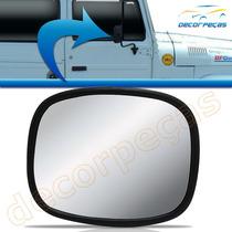 Espelho Retrovisor Bandeirante Jeep Willys Rural F75 Novo