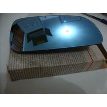 Lente Espelho Retrovisor Ld Santana 98/06 Azul Original Vw