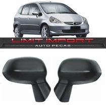 Par Retrovisor Honda Fit Ano 2003 2004 2005 2006 2007 2008
