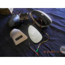 C4 08-10 Retrovisor Esq C Lente Azul E Aquec Capa Prata