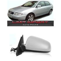 Retrovisor Audi A3 Esquerdo Ano 1996 1997 1998 1999 2000